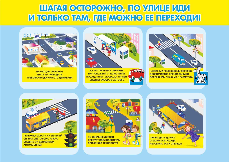Правила движения на светофоре пешеходам