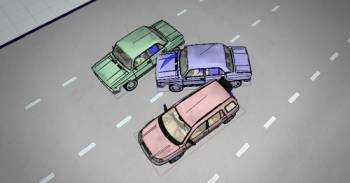Изображение - Сколько стоит трасологическая экспертиза при дтп risunok-dtp-iz-tryokh-avtomobiley
