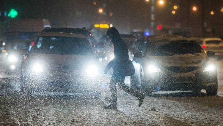 плохая погода на дороге